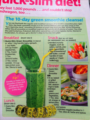Nutritionist Jj Smith Shares 10 Day Smoothie Cleanse ...