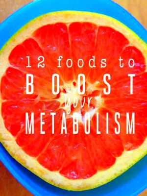 12 Foods to Boost Your Metabolism | Food!! | Pinterest | Metabolism ...