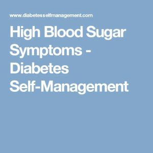1000+ ideas about High Blood Sugar on Pinterest | Blood ...