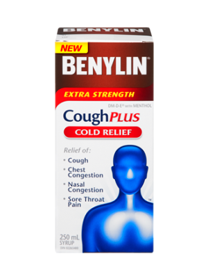 Extra Strength Cough & Cold Syrup | BENYLIN® Canada