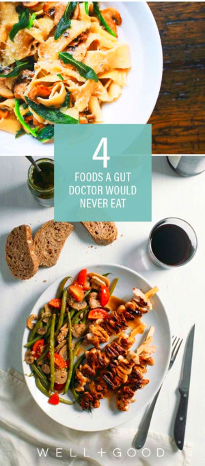 The healthy foods Happy Gut's Vincent Pedre eats | Well+Good