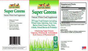 Country Farms Super Greens - Windmill Vitamins