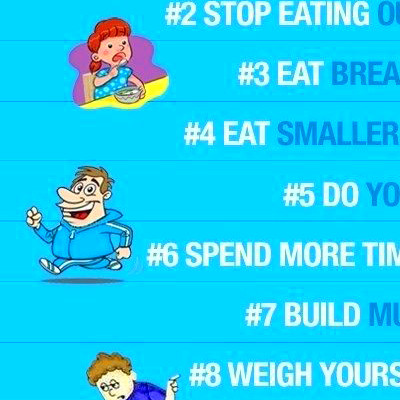 10 Killer Tips to Easy Permanent Weight Loss ~ Writing Arrows