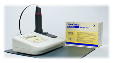The NycoCard D-Dimer test is a rapid 3-minute test for the activation ...