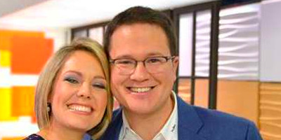 Brian Fichera and his wife Dylan Dreyer, a meteorologist, are set to