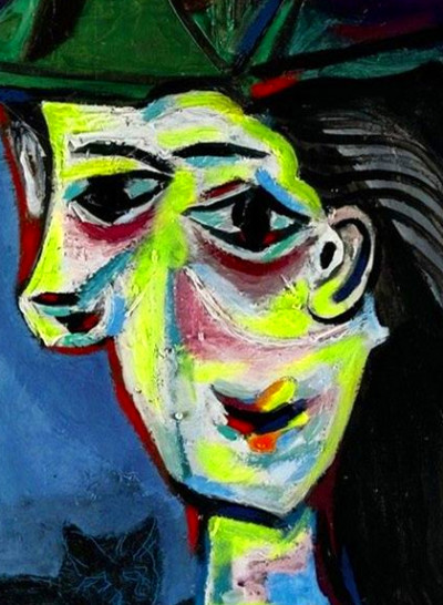 Dora Maar au Chat by Pablo Picasso - ArtPaintingArtist
