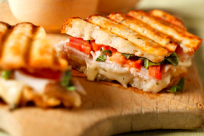 Turkey Bruschetta Panini Recipe - Kraft Canada