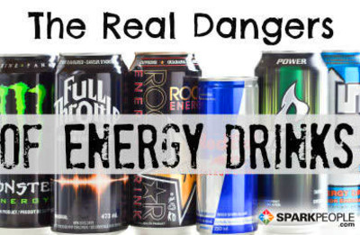 The Real Dangers of Energy Drinks | SparkPeople