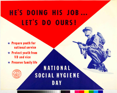 National Social Hygiene Day 2 - Vintage Government Advice Posters ...