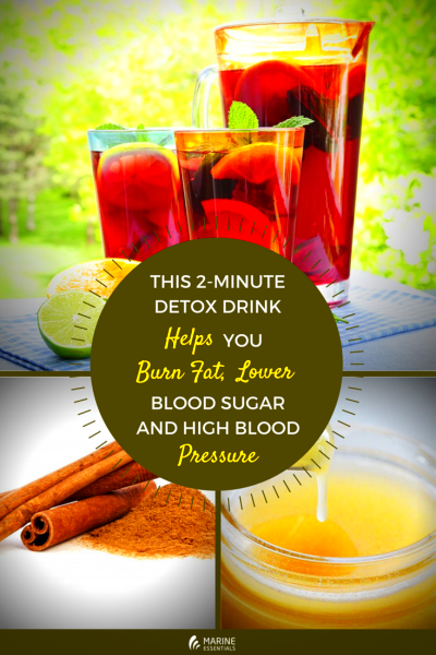 This 2-Minute Detox Drink Helps You Burn Fat, Lower Blood ...