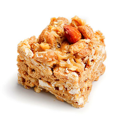 Peanut-Almond Snack Bars Recipe | MyRecipes
