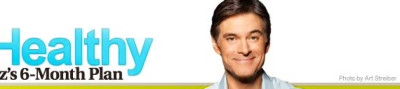 get healthy with dr. oz's 6-month plan