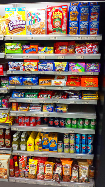 What 'American Food' Aisles Look Like In Other Countries