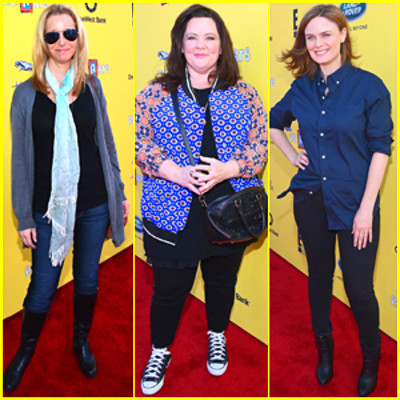 Lisa Kudrow & Melissa McCarthy Are Funny Ladies at Express Yourself ...