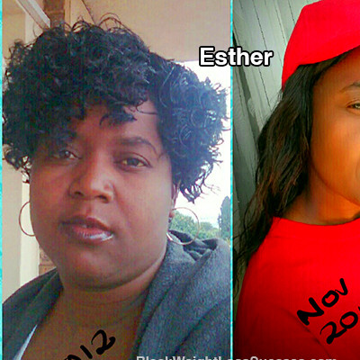 Esther lost 111 pounds | Black Weight Loss Success