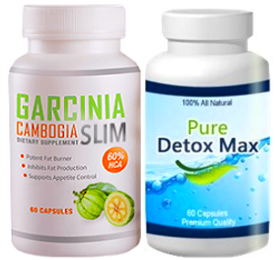 ... FREE 1 Month Supply each of Garcinia Cambogia Slim and Pure Detox Max