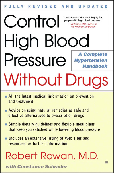 Control High Blood Pressure Without Drugs | Book by Robert ...