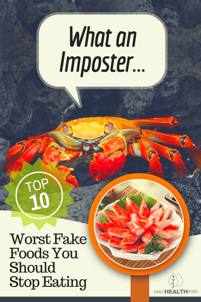 Top 10 Worst Fake Foods You Should Stop Eating