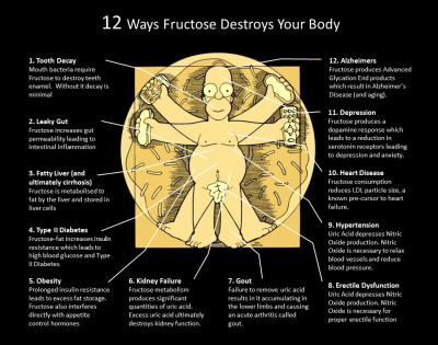 Another 5 Ways Fructose will mess you up – David Gillespie