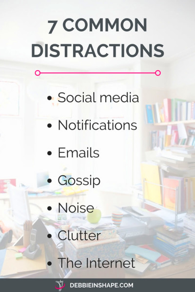 How To Beat Distractions To Improve Your Productivity ...