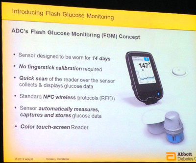 Abbott debuts Flash Glucose Monitoring, a New Alternative to Fingersticks | diaTribe