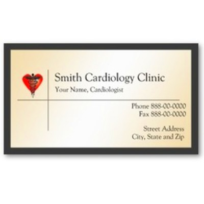 Physician Business Card - Custom Made Business Cards