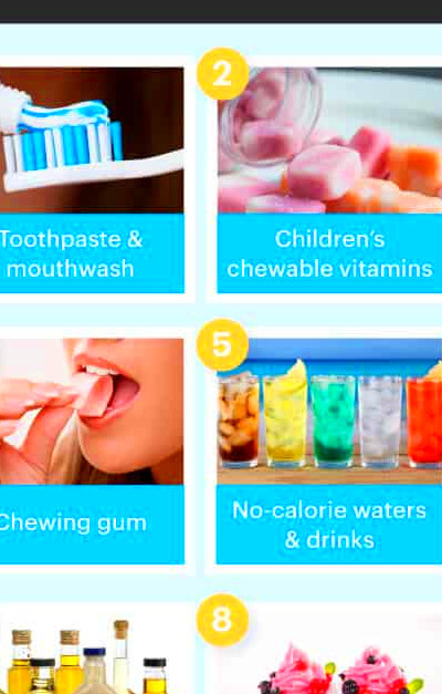 The 5 Worst Artificial Sweeteners - Dr. Axe