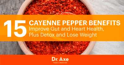 Cayenne Pepper Benefits Your Gut, Heart & Beyond - Dr. Axe
