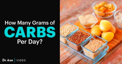 How Many Grams of Carbs Per Day Do You Need? - Dr. Axe