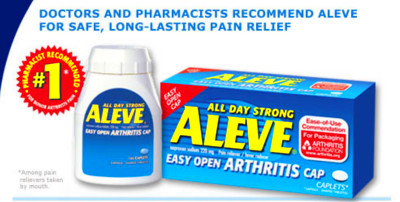 Aleve. Causes, symptoms, treatment Aleve
