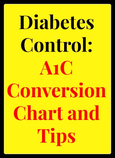 Bs A1c Conversion The Diabetics Blog