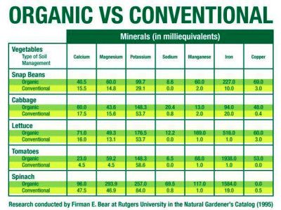 Organic vs. Conventional: Is the Proof in the Nutrition? - Eco Child's ...