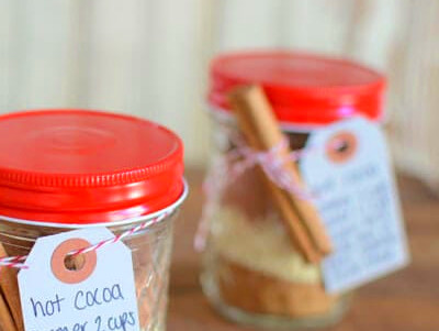 Hot Chocolate Mix in a Jar | Elana's Pantry