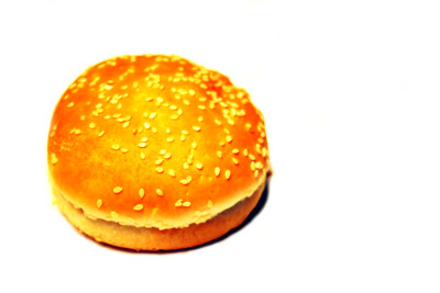 hamburger bun by bell-stock