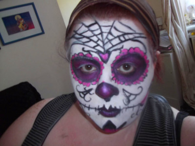 Sugar Skull Here Fun Little Project Started And The Near - leishana ...