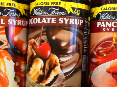 there they are…in all their glory! bbq sauce too! WF is on a roll.