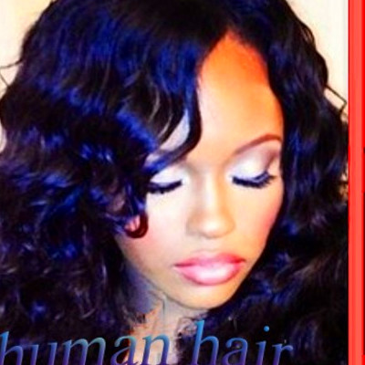 New Arrived Wendy Williams Wigs 100% real Deep Wave 150 density front ...