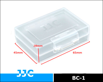 Jjc Bc-1 Battery Case For Camera Battery Protection And Storing - Buy ...