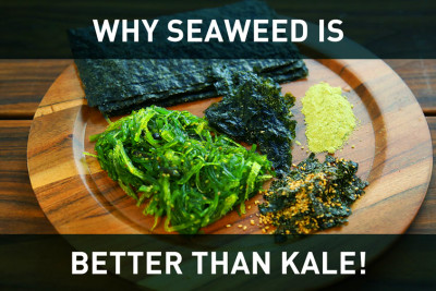 SEAWEED: Better than Kale (3 ways to make it taste great!) - Gundry MD
