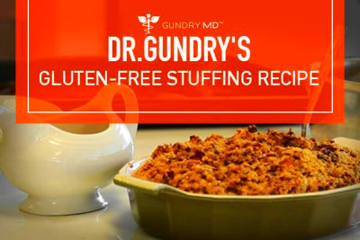 Dr. Gundry's Delicious Gluten-Free Stuffing Recipe