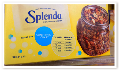 splenda side effects- It's not a natural sweetener, but does it have ...