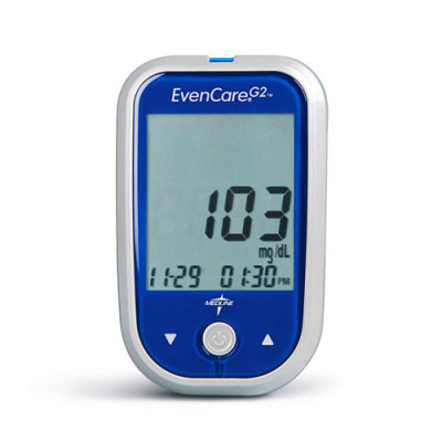 Diabetic Supplies > Blood Glucose Meters > Evencare G2 Blood Glucose ...