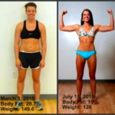 whitney thore before and after Success