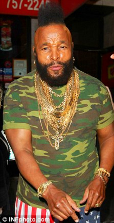 Apparently Mr. T is now serving as the public face of Gold Promise, a ...