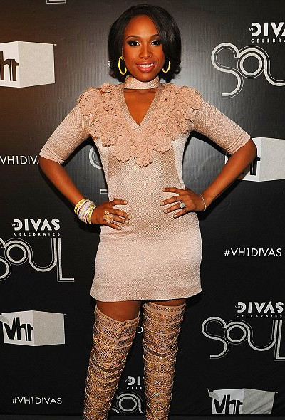 No more weight gain! Jennifer Hudson, pictured here at VH1 Divas in ...