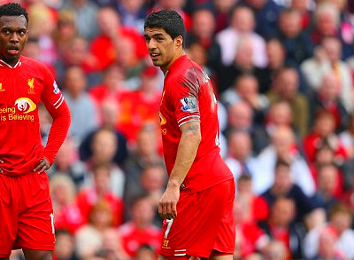 Striking it rich: Sturridge (left) finished as the top flight's second ...