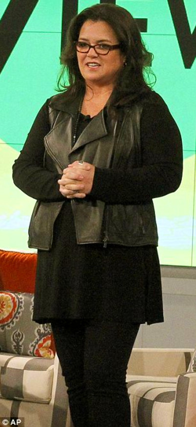 What a difference: Rosie O'Donnell showed off her 53lbs weight loss on ...