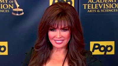 Marie Osmond arrives to the 2015 Daytime Emmy Awards ...