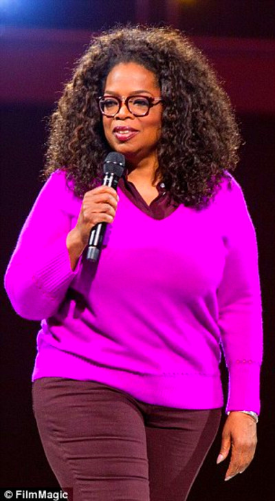Oprah reveals the secrets behind her 26lb weight loss ...