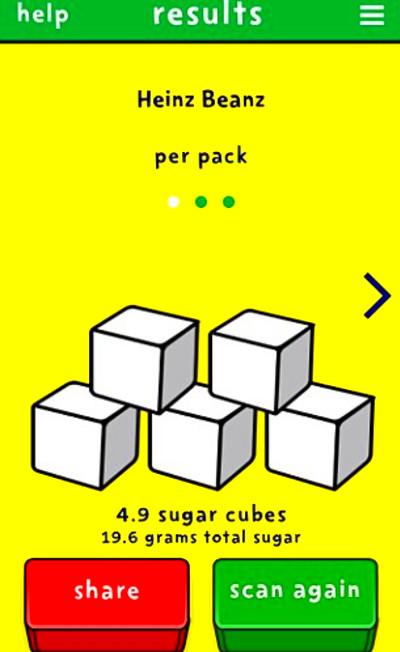 Sugar Smart app exposes how much sugar YOUR favourite food ...